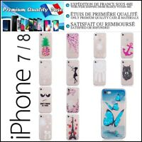 Etui Coque Housse Silicone Pattern TPU Soft Gel Case Cover iPhone 7 / iPhone 8