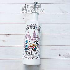 New ListingNew Disney Parks Epcot Italy Pavilion Cucina Italia Mickey Minnie Oil Bottle