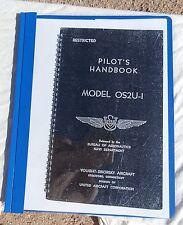 Paper Copy of a WW 2  USN OS2U-1 Kingfisher Scout Bomber Pilot's Handbook