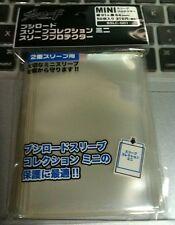 Bushiroad Sleeve Mini Sleeve Protector Oversleeve Guard CLEAR (BSLC-001/006)