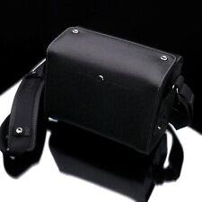 GARIZ Black Label Leather Camera Bag Black BL-ZBSBK Small Size