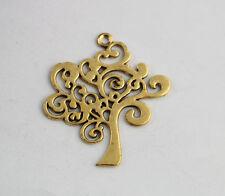 10PCS Antiqued Gold TREE OF LIFE Charm Pendants A15998G