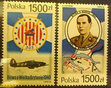 POLAND-STAMPS MNH Fi3119,3153 Sc2968,3002 Mi3267,3301  - Polish Arm.Forces, 1990