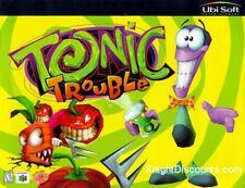 TONIC TROUBLE Classic Kids Adventure PC Windows CD-Rom Game Ubi Soft BRAND NEW