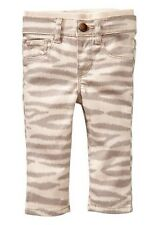 GAP Baby Girl 0-3 Months NWT Tiger / Zebra Striped Pull-On Skinny Jeans Pants