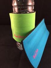 Beverage Beer Soda Pop Can Bottle Cooler Koozie Holder Wristrap Drinkstrap New