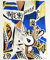 "DDR-Kunst/Nachwendezeit ""Hongkong"", 1993. Stefan PLENKERS (*1945 D) handsigniert"