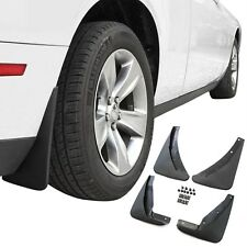Dodge Challenger Mud Flaps 2015-2018 Guards Splash Molded 4 Piece Front & Rear