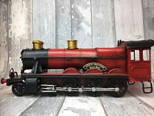 More details for lesser & pavey red vinatage classic tin steam train model transport