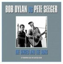 Bob Dylan VS Pete Seeger Singer and The Song Double LP Vinyl European Not Now