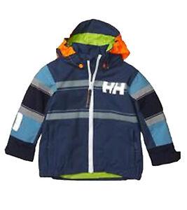 HELLY HANSEN Regen-Jacke stylische Kinder Funktions-Jacke mit seitlichen Eingrif
