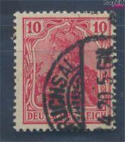 Deutsches Reich 86II f geprüft, Kriegsdruck gestempelt 1915 Germania (7827454