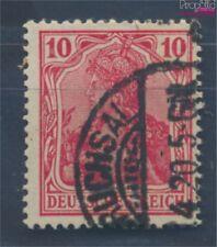 alemán Imperio 86II F geprüFt, impresión de guerra usado 1915 Germania ((7827454