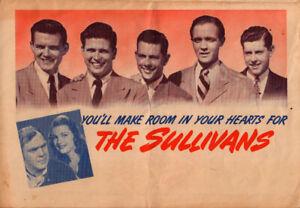 Sullivans Original Movie Herald from the 1944 Movie