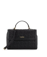 Calvin Klein Gifting Lace Leather Medium Satchel New WT Tag Authentic  RRP 349.95 0df5f457c3569