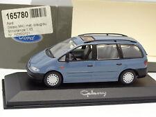 Minichamps 1/43 - Ford Galaxy MKI Bleue