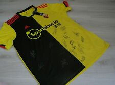 Watford FC 2019/20 Signed football shirt (with certificate of authenticity)