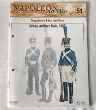 DRIVER LINE ARTILLERY TRAIN 1807 Napoleon At War Del Prado Magazine #51 ONLY