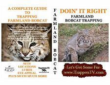 Trappers Tv-Bobcat Trapping Dvd-How To Trap Farmland Bobcat-Watch And Learn