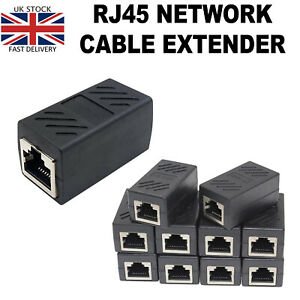 RJ45 Inline Coupler Cat5 Ethernet Network Cable Extend Adapter Joiner Wholesale