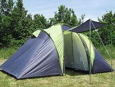 Loftra 4 Personen Familienzelt Campingzelt Tunnelzelt Camping Zelt 3000 Explorer