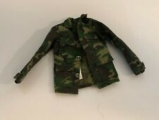 """12"""" Camouflage Jacket for Gi Joe or Other Military Figure"""