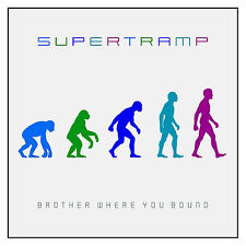 SUPERTRAMP Brother Where You Bound / A&M RECORDS CD 1985 Made In Germany