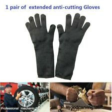 1 pair Anti-cutting Gloves Safety Stainless Steel Metal Mesh Brand new