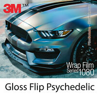 152x60cm FILM Gloss Flip Psychedelic 3M 1080 GP281 Vinyle COVERING Series Wrap