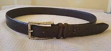 vintage Bill Lavin Soft Collections Belt Size 34 hand made in Italy