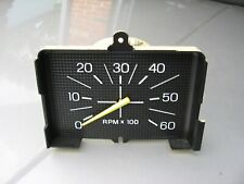 80 86 FORD F150 F250 F350 TRUCK BRONCO GAUGE INSTRUMENT CLUSTER TACH TACHOMETER