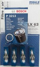 SERVICE KIT FITS PORSCHE 924S 944 2.5 2.7 LUX 8V AIR & OIL FILTER SPARK PLUGS