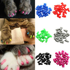 20pcs Colorful Soft Pet Dog Cats Kitten Paw Claw Control Nail Cap Cover Surprise