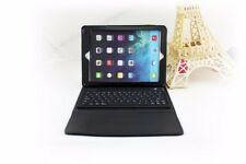 Negro Funda de Piel Bluetooth Teclado Inalámbrico para Apple Ipad 9.7 2018