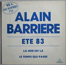"ALAIN BARRIERE - MAXI PROMO VINYL (12"") ""LA MER EST LÀ"""