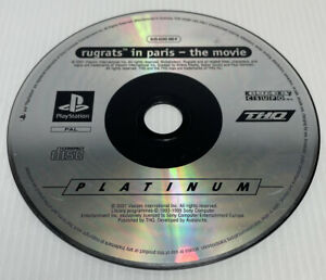 Rugrats In Paris The Movie PLAYSTATION 1 Sony PS1 - Disc Only Free Postage