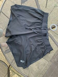 mens asics running shorts Size L