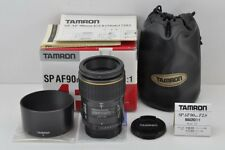 TAMRON SP AF 90mm F2.8 MACRO 72E Lens for PENTAX K Mount with Box MINT #171007b