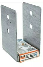 New listing Simpson Strong-Tie Abu46Z Post Base Deck Post Galvanized New 4X6 (4 Sets)