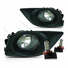 For 12-14 Nissan Versa Fog Lights w/Wiring Kit & LED Bulbs - Clear