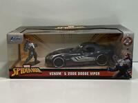 Venom and 2008 Dodge Viper Spiderman 1:24 Scale Jada 31750