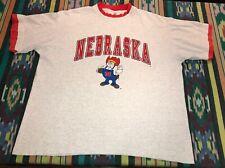 Vintage University Of Nebraska Cornhuskers Big Red T-Shirt Xxl College