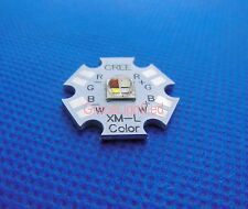 Cree XLamp XM-L RGBW RGB White Color LED Emitter 4-Chip 20mm Star PCB Board