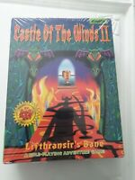 Castle Of The Winds II Big Box IBM TANDY  PC 1993 Sealed  Ms Dos Floppy Disk Gam