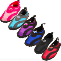 Womens Water Shoes Aqua Socks Slip On Pool Beach Swim Surf Sport Wet Workout New