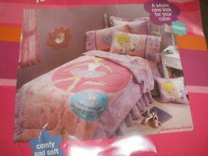 HTF Vintage Center Stage Barbie Reversible Comforter Twin Size