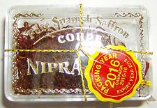 Pure azafrán español nipra Calidad de la marca 4 Gr X 6. Original Sellado