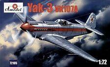 Amodel 1/72 Yakovlev Yak-3 VK107A # 72105