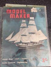 VINTAGE October 1960 MODEL MAKER MAGAZINE  NICE MAGAZINE