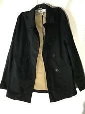 Oleg Cassini Pea Coat Sz M